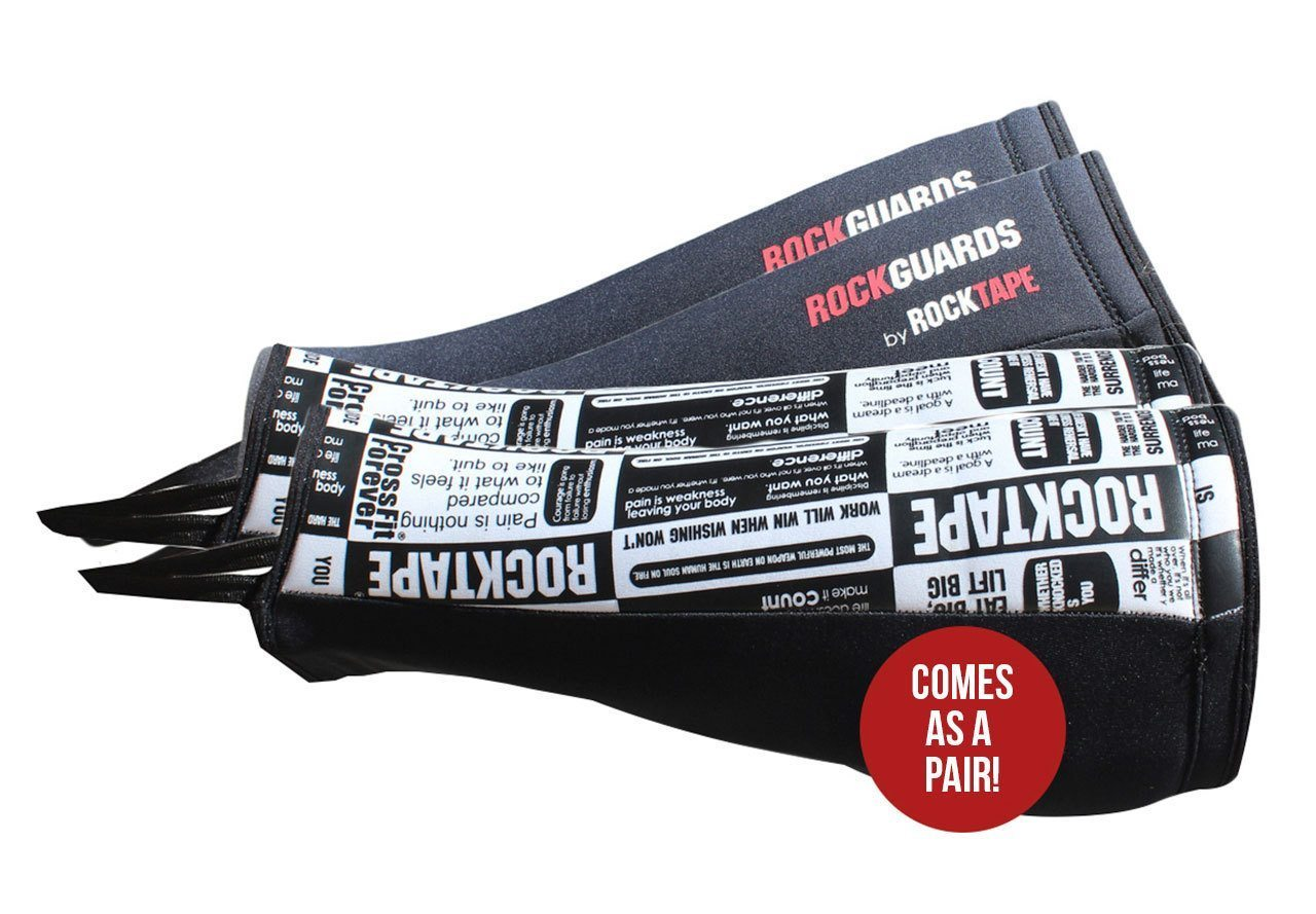 RockTape RockGuard Shin Guards - Black