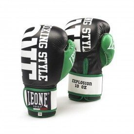 Leone1947 Boxing Gloves Explosion - Black