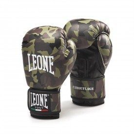 Leone1947 Boxing Gloves Camouflague - Green - 10oz
